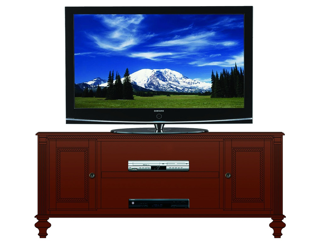 Foster Home Entertainment 61in Tv 2 Wood Doors Ff850 Borofka S Furniture Woodbury And
