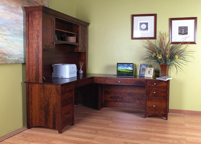 Bridgeport Home Office Gavin Desk 2 Bbgavioffice2 Borofka S Furniture Woodbury And