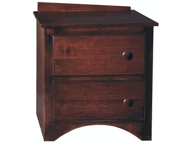 Bridgeport Intrepid 2 Drawer Nightstand