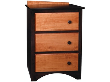 Bridgeport Intrepid 3 Drawer Nightstand