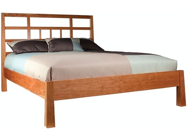 Precision Crafted Spades Low Footboard Bed
