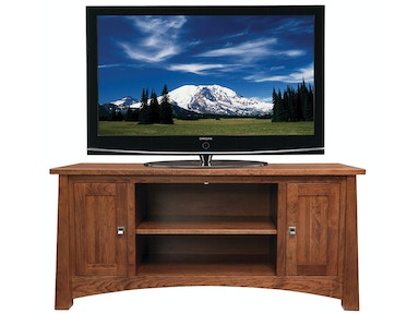 Precision Crafted 61in TV-2 Wood Doors