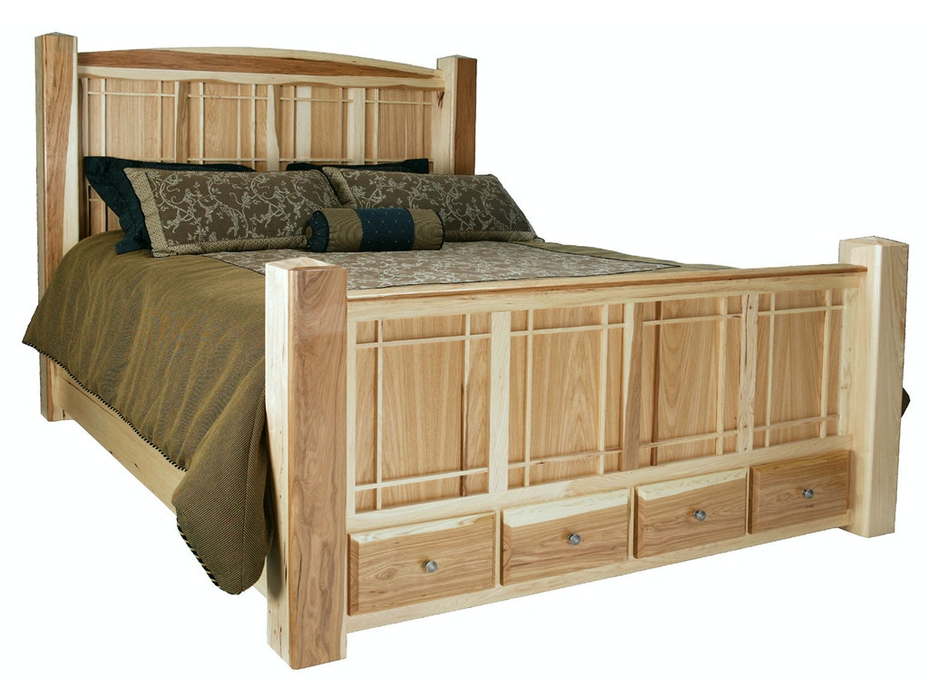 Abalone Bedroom Foot Bed Sc2040 Borofka S Furniture Woodbury And Burnsville Mn