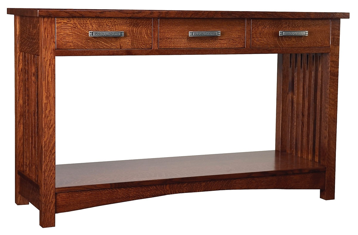 Cove Hollow Pueblo 3 Drawer Console Table SW8935