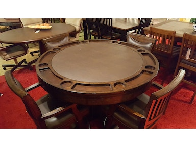 Eci bar and game room reversible top dinning roompoker table with 4 eci bar and game room reversible top dinning roompoker table with 4 chairs watchthetrailerfo