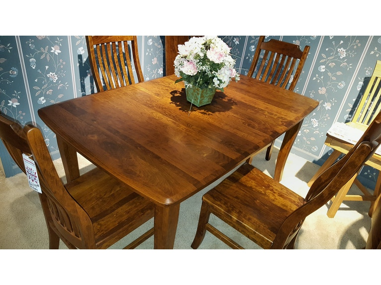 Trailways Amish Made Rustic Cherry Dinning Room Set Easton Pike Ocs