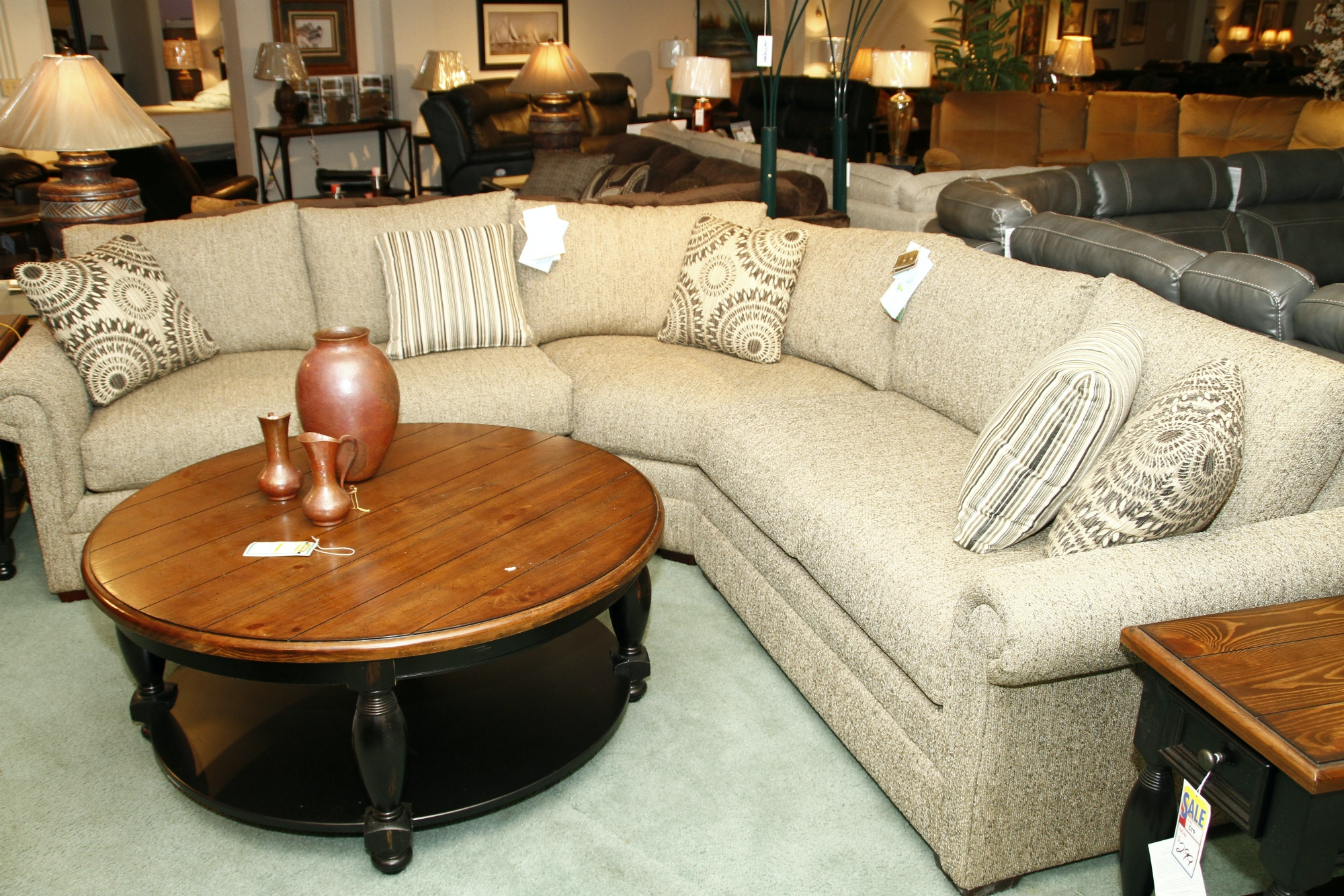 Cozy Life Living Room 3 Piece Sectional F912 Erie PA