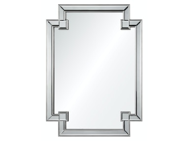 882 Mirrors Distressed Silver Leaf Mirror 20431