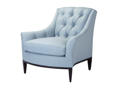 Theodore Alexander Riley Tufted Back Chair TA.5193