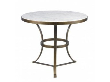 Lillian August by Hickory White Piers Side Table-Aged Gold LA13321-01