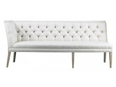 Lillian August by Hickory White Armand Right Armless Corner Banquette LA5122QR