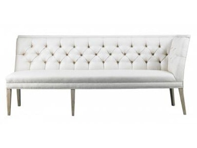 Lillian August by Hickory White Armand Left Armless Corner Banquette LA5122QL