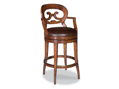 Woodbridge Swivel Bar Stool WBR.7044-02