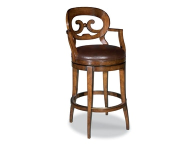Woodbridge Swivel Bar Stool WBR.7044-11