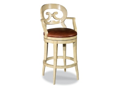 Woodbridge Swivel Bar Stool WBR.7044-33