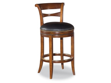 Woodbridge Swivel Armless Bar Stool WBR.7058-02