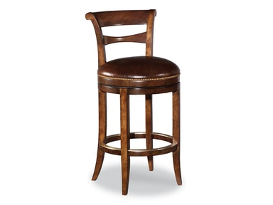 Woodbridge Swivel Armless Bar Stool WBR.7058-11
