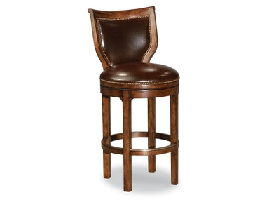 Woodbridge Armless Swivel Paddington Bar Stool WBR.7062-11