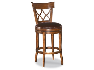 Woodbridge Swivel Armless Bar Stool WBR.7066-11