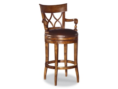 Woodbridge Swivel Bar Stool WBR.7067-11