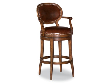 Woodbridge Oval Back Swivel Bar Stool WBR.7093-11