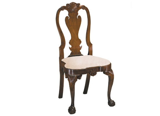 Amazing Kindel Philadelphia Queen Anne Side Chair KDL.83 072