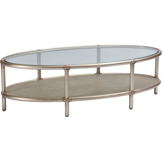Baker Living Room Oval Coffee Table 7854 Studio 882 Glen Mills