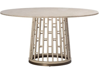 McGuire Barbara Barry Fretwork Dining Table MCG.847