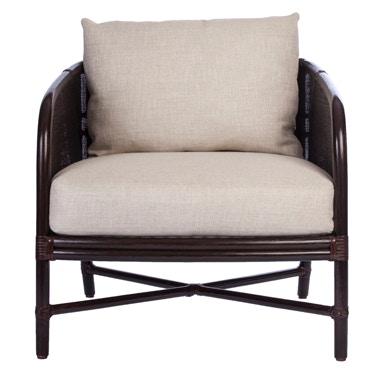 McGuire Plaid Lounge Chair MCG.A 101