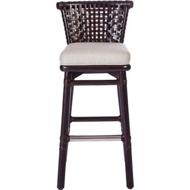 mcguire antalya laced rawhide bar stool lo 355 antalyaa bar stool