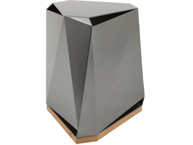 McGuire Steven Volpe Coburg Faceted Side Table MCG.876