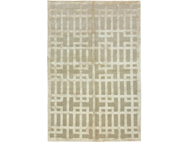 882 Rugs Gated Lattice Ecru S882-11