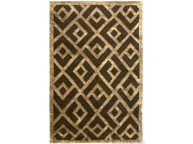 882 Rugs Laced Diamond Brown Gold S882-14