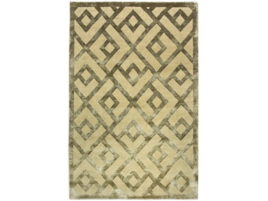 882 Rugs Laced Diamond Champagne S882-15