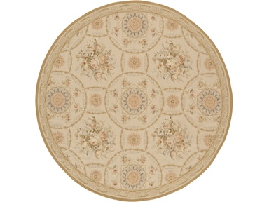 882 Rugs Reims Ivory Gold - Round S882-101