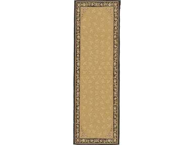882 Rugs Rennes Gold Black - Runner S882-105