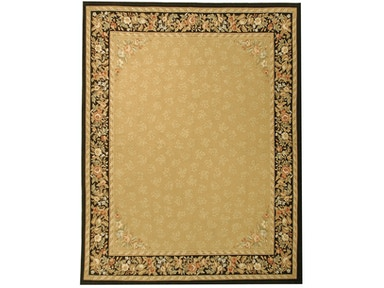 882 Rugs Rennes Gold Black S882-103