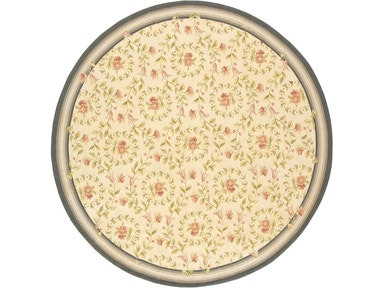882 Rugs Rouen Ivory Denim - Rounds/Squares S882-110