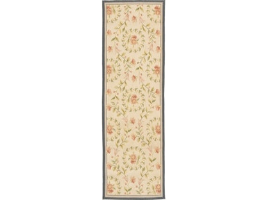 882 Rugs Rouen Ivory Denim - Runner S882-111