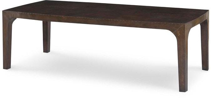 Julian Chichester Living Room Copper Coffee Table Studio 882