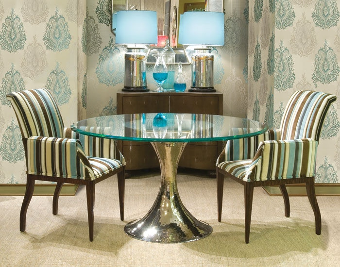 Julian Chichester Dakota Glass Tables