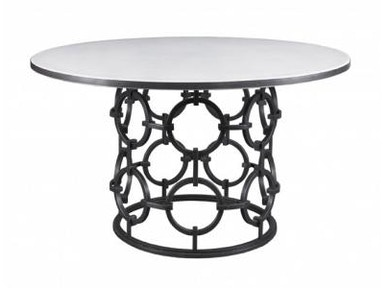 Lillian August by Hickory White Seaton Dining Table with Stone Top LA13008_LA13010