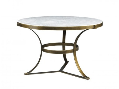 Lillian August by Hickory White Piers Center Table - Aged Gold LA13323-01