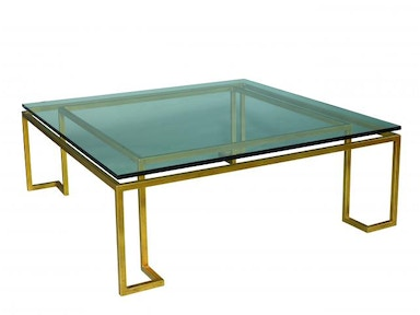 Lillian August by Hickory White Reid Cocktail Table - Glass LA14315