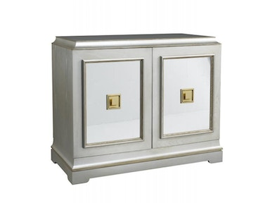 Lillian August by Hickory White Rand Door Cabinet - Eglomise LA14362E