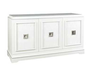 Lillian August by Hickory White Rand 3-Door Cabinet - Shagreen LA14363