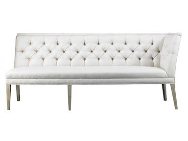 Lillian August by Hickory White Armand Custom Length Left Armless Corner Banquette A22QL92