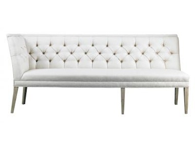 Lillian August by Hickory White Armand Custom Length Right Armless Corner Banquette A22QR92