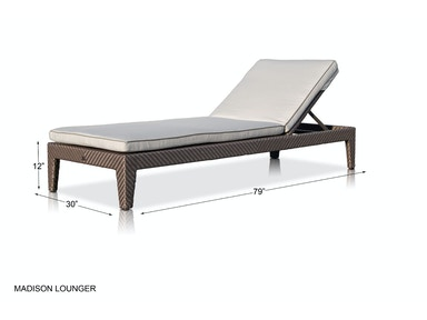 Skyline Design Madison Chaise Madison Chaise