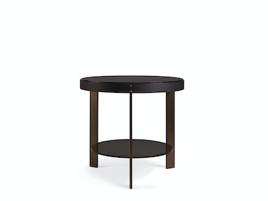 Milling Road by Baker Halo Side Table MR7059B